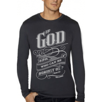 IF GOD IS FOR US - SWEAT-SHIRT HOMMES - TAILLE XL