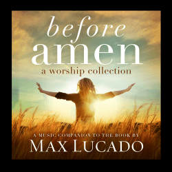 BEFORE AMEN: A WORSHIP COLLECTION [CD 2014]