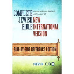 ANGLAIS, BIBLE NIV, PARALLÈLE CJB / NIV, RIGIDE, GRAND FORMAT, SIDE-BY-SIDE REFERENCE EDITION, COMPLETE JEWISH BIBLE / NEW INTER