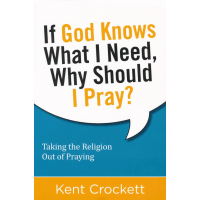 IF GOD KNOWS WHAT I NEED, WHY SHOULD I PRAY? - TAKING THE RELIGION OUT OF PRAYING