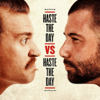 HASTE THE DAY VS HASTE THE DAY CD