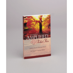 AMPLIFIED, NT, ROT, PAPERBACK