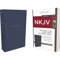 Englisch, Reference Bible, personal size - leathersoft, tan, red letter edition, comfort print