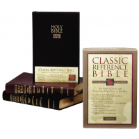 ANGLAIS BIBLE NASB CLASSIC REFERENCE - RIGIDE, TR. BLANCHE, NEW AMERICAN STANDARD BIBLE